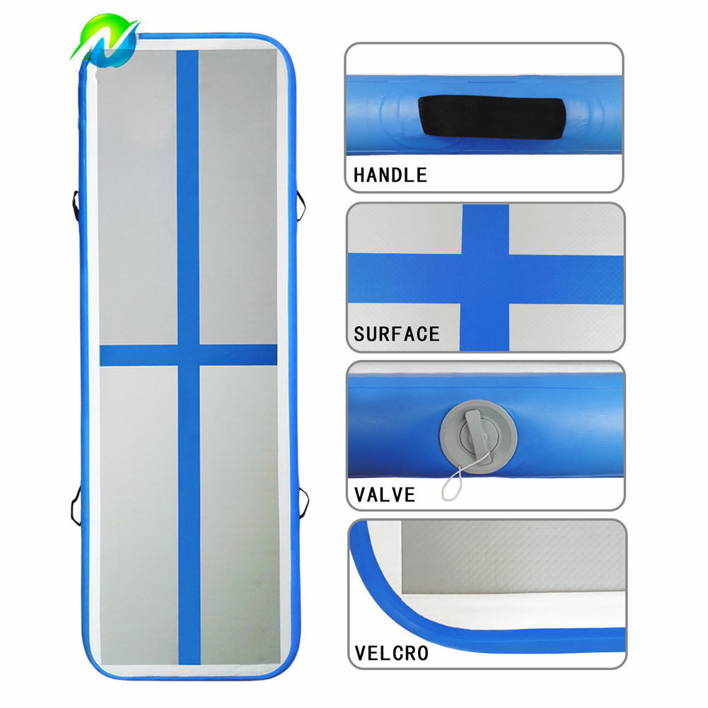 Blue Color Gymnastics Air Mat